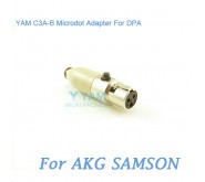 YAM C3A-B Microdot Adapter FOR DPA Fit AKG Samson Bodypack Transmitter
