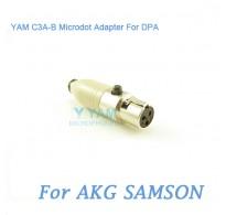 YAM C3A-B Microdot Adapter FOR DPA Fit AKG Samson Bodypack Transmitter