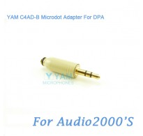 YAM C4AD-B Microdot Adapter FOR DPA Fit Audio2000S Bodypack Transmitter