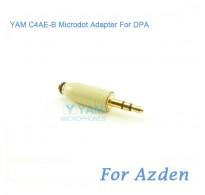 YAM C4AE-B Microdot Adapter FOR DPA Fit Azden Bodypack Transmitter