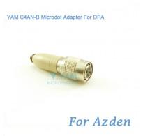 YAM C4AN-B Microdot Adapter FOR DPA Fit Azden Bodypack Transmitter