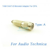YAM C4AT-B Microdot Adapter FOR DPA Fit Audio Technica Bodypack Transmitter
