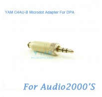 YAM C4AU-B Microdot Adapter FOR DPA Fit Audio2000S Bodypack Transmitter