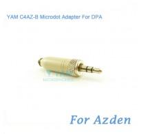 YAM C4AZ-B Microdot Adapter FOR DPA Fit Azden Bodypack Transmitter