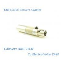 YAM CA306 Convert AKG TA3F to Electro Voice TA4F Wireless Bodypack Transmitter