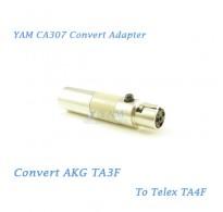 YAM CA307 Convert AKG TA3F to Telex TA4F Wireless Bodypack Transmitter