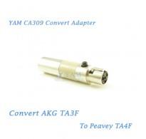 YAM CA309 Convert AKG TA3F to Peavey TA4F Wireless Bodypack Transmitter