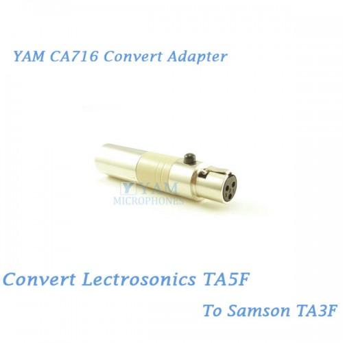 Beige Lavalier Lapel Microphone for VocoPro Wireless Transmitters
