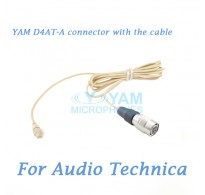 YAM D4AT Connector with the Cable For HM5 fit Audio Technica Wireless Microphones
