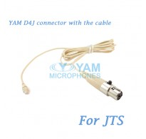YAM D4J Connector with the Cable For HM5 fit JTS Wireless Microphones