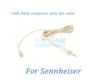 YAM D4SE Connector with the Cable For HM5 fit Sennheiser Wireless Microphones