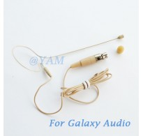 YAM Beige EM1-C3G Earset Microphone For Galaxy Audio Wireless Microphone
