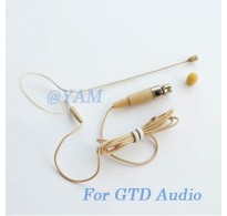 YAM Beige EM1-C3D Earset Microphone For GTD Audio Wireless Microphone