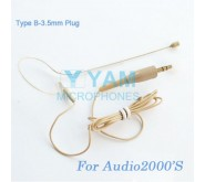 YAM Beige EM1-C4AU Earset Microphone For Audio2000S Wireless Microphone