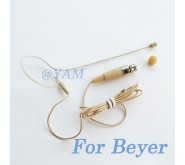 YAM Beige EM1-C4BE Earset Microphone For Beyer Wireless Microphone