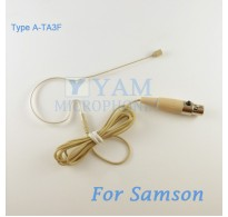 YAM Beige EM2-C3N Earset Microphone For SAMSON Wireless Microphone Designed For Children