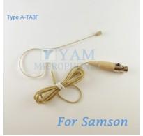 YAM Beige EM2-C3N Earset Microphone For SAMSON Wireless Microphone Designed For Children