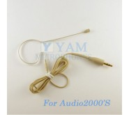 YAM Beige EM2-C4AU Earset Microphone For Audio2000S Wireless Microphone Designed For Children