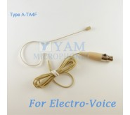 YAM Beige EM2-C4AV Earset Microphone For Electro Voice Wireless Microphone Designed For Children