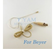 YAM Beige EM2-C4BE Earset Microphone For Beyer Wireless Microphone