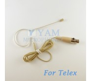 YAM Beige EM2-C4TE Earset Microphone For Telex Wireless Microphone Designed For Children