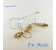 YAM Beige EM2-C4Z Earset Microphone For Nady Wireless Microphone Designed For Children