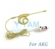 YAM Beige EM8-C3A Earset Microphone For AKG Wireless Microphone Designed For Children and Adult