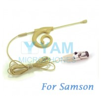 YAM Beige EM8-C3N Earset Microphone For SAMSON Wireless Microphone Designed For Children and Adult