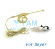 YAM Beige EM8-C4BE Earset Microphone For Beyer Wireless Microphone
