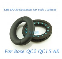 YAM EP2 Replacement Ear Pads Cushions for Bose QC2 QC15 AE Headphones