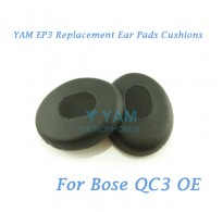 YAM EP3 Replacement Ear Pads Cushions for Bose QC3 and OE Headphones