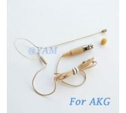 YAM Beige EM1-C3A Earset Microphone For AKG Wireless Microphone