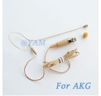 YAM Beige EM1-C3A Earset Microphone For AKG Wireless Microphone