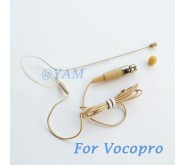 YAM Beige EM1-C3P Earset Microphone For Vocopro Wireless Microphone