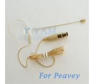 YAM Beige EM1-C4Q Earset Microphone For Peavey Wireless Mirophone