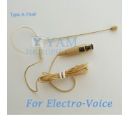 YAM Beige EM1-C4AV Earset Microphone For Electro Voice Wireless Microphone