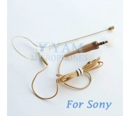 YAM Beige EM1-C4W Earset Microphone For  SONY Wireless Mirophones