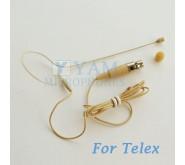 YAM Beige EM1-C4TE Earset Microphone For Telex Wireless Microphone