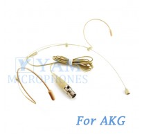 YAM Beige HM3-C3A Headset Microphone For AKG Wireless Microphone
