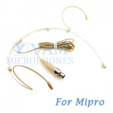 YAM Beige HM3-C4M Headset Microphone For Mipro Wireless Mirophone