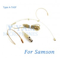 YAM Beige HM3-C3N Headset Microphone For SAMSON Wireless Microphone