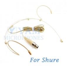 YAM Beige HM3-C4S Headset Microphone For SHURE Wireless Microphone