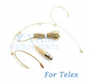 YAM Beige HM3-C4TE Headset Microphone For Telex Wireless Microphone