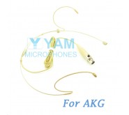 YAM Beige HM1-C3A Headset Microphone For AKG Wireless Microphone