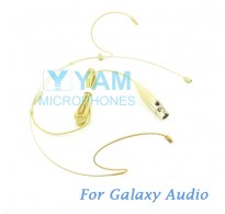 YAM Beige HM1-C3G Headset Microphone For Galaxy Audio Wireless Microphone