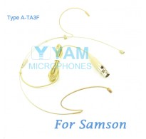 YAM Beige HM1-C3N Headset Microphone For SAMSON Wireless Microphone