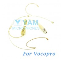 YAM Beige HM1-C3P Headset Microphone For Vocopro Wireless Microphone