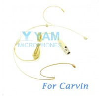 YAM Beige HM1-C4C Headset Microphone For Carvin Wireless Microphone