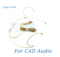 YAM Beige HM1-C4CA Headset Microphone For CAD Audio Wireless Microphone