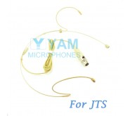 YAM Beige HM1-C4J Headset Microphone For JTS Wireless Microphone